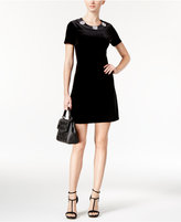 MICHAEL Michael Kors Velvet Shift Dress