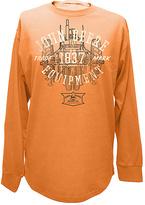John Deere Pumpkin 'Trademark' Long-Sleeve Heathered Tee