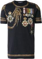 Dolce & Gabbana military print T-shirt - men - Cotton - 46