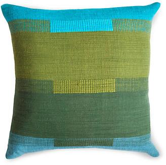 Bole Road Textiles Bale 18x18 Pillow - Dawn