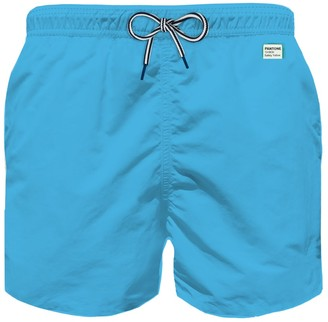 MC2 Saint Barth Light Blue Ultralight Boys Swim Shorts - Pantone Special Edition