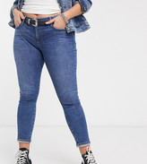 Levi's Plus 310 shaping skinny jeans