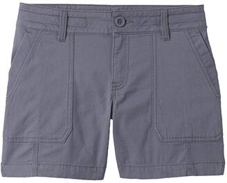 Prana 5 Elle Shorts (Chalkboard) Women's Shorts