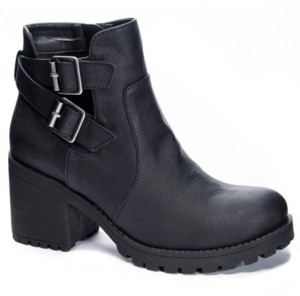 Chinese Laundry Level Block Heel Booties Women's Shoes
