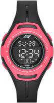 Skechers Performance Womens Sport Digital Chronograph Watch with Negative Display