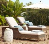 Pottery Barn Saybrook All-Weather Wicker Single Chaise