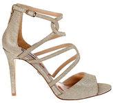 Badgley Mischka Devon Metallic Sandals