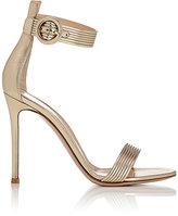 Gianvito Rossi Women's Baiadera Ankle-Strap Sandals-GOLD