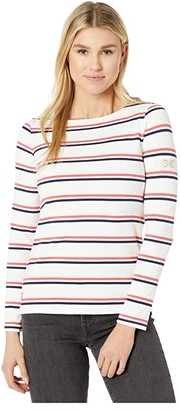 Joules Harbour (Cream/Red/Blue Stripe) Women's Blouse