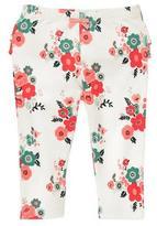 Gymboree Floral Ruffle Leggings