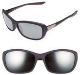 Nike Women's Flex Finesse 58Mm Sunglasses - Black