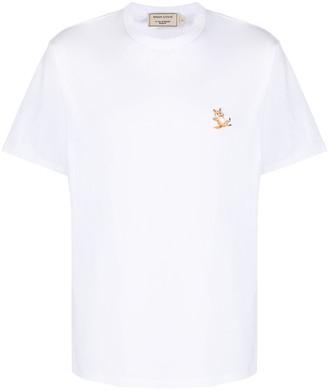 MAISON KITSUNÉ applique cotton T-shirt