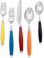 Fiesta Flatware, Multicolor 5 Piece Place Setting