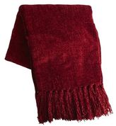 Pier 1 Imports Red Chenille Throw