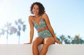aerie Perky Triangle Longline Bikini Top