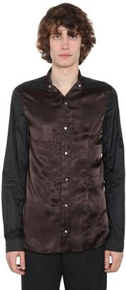 Rick Owens Cupro & Techno Shirt