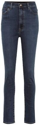 J Brand 1212 Runway high-rise skinny jeans