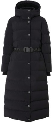 Burberry Long Belted Puffer Coat
