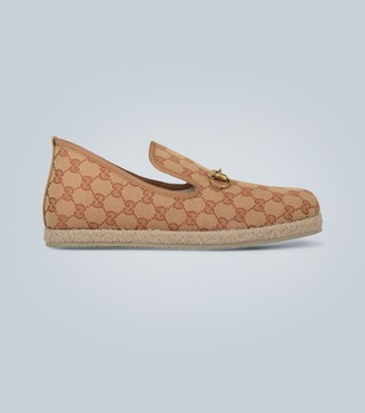 Gucci GG canvas loafer