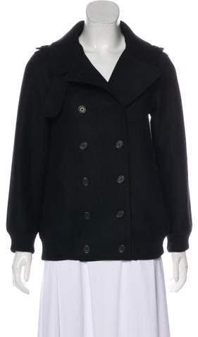 Marc Jacobs Virgin Wool Short Coat