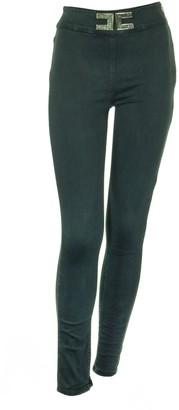 Elisabetta Franchi Celyn B. Skinny Cotton Trousers