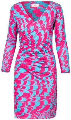 Cosel Printed Lycra Dress Mila