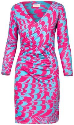 Mila Louise Printed Lycra Dress