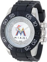 Game Time Men's MLB-BEA-MIA Beast Round Analog Watch