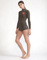 Cynthia Rowley Heart Emblem Wetsuit