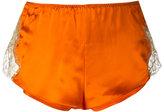 Gilda & Pearl - Gina tap pant - women - Silk/Nylon/Polyethylene/Rayon - S