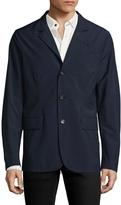 Luciano Barbera Men's Plaid Wool Jacket