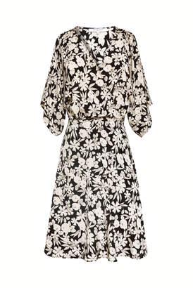 Gerard Darel Sabrina - Short Printed Silk Dress