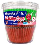 Reynolds Holiday Green & Red Foil Baking cups