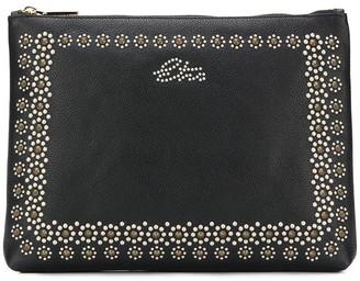 Etro Stud-Embellished Clutch