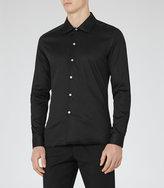 Reiss Jonjo Spread Collar Shirt