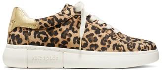 Kate Spade Lift Leopard-Print Suede Sneakers