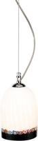 Voltolina Greca - Cream Murano Handmade Glass Pendant Lamp