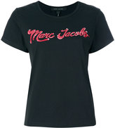 Marc Jacobs branded T-shirt - women - Cotton - XS