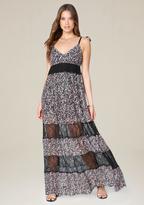 Bebe Tania Print Maxi Dress