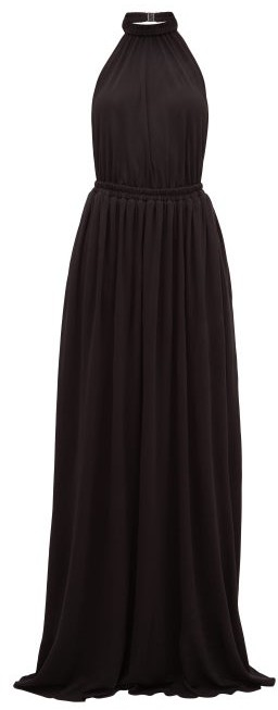 Matteau The Halter Maxi Dress - Black