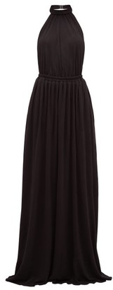 Matteau - The Halter Maxi Dress - Womens - Black