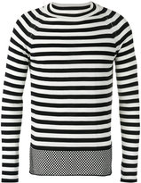 Marc Jacobs striped top - men - Cotton - M