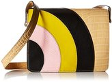Orla Kiely Croc Applique Leather Bonnie Bag