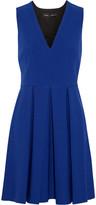 Proenza Schouler Pleated crepe mini dress