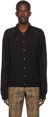Our Legacy Black Evening Cardigan