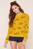 Forever 21 FOREVER 21+ Woe Boo Brb Lol Sweatshirt