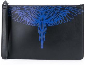 Marcelo Burlon County of Milan Pictorial Wings Clutch