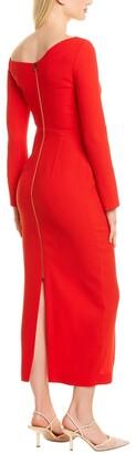 Roland Mouret Trevi Wool Dress