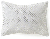 Calvin Klein Heather Shimmer Blossoms Sequined Oblong Pillow