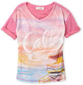 Jessica Simpson Girls 7-16) Sunset V-Neck Tee